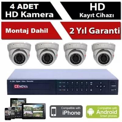 4 lü Bebek Kamera Sistemi