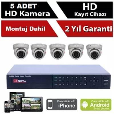 5 li Bebek Kamera Sistemi