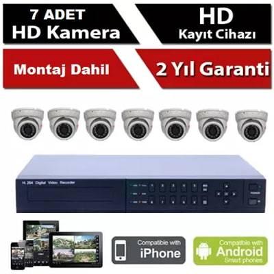 7 li İP Kamera Sistemi