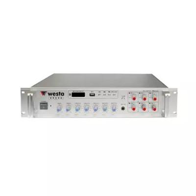 250W 6 Bölgeli Usb&FM Hat Trafolu Amplifikatör